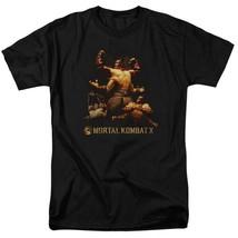 Mortal Combat X Fighting video game Quan Chi graphic adult t-shirt WBM469 image 1