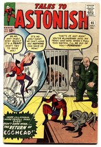 TALES TO ASTONISH #45 comic book ANT-MAN-2nd Wasp-Marvel Kirby - $206.13