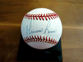 MARIANO RIVERA NEW YORK YANKEES HOF SIGNED AUTO EARLY VINTAGE OAL BASEBA... - $296.99