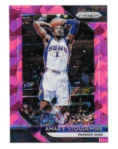 2018-19 Panini Prizm Amare Stoudemire Pink Cracked Ice Prizm Card #295 - $1.24