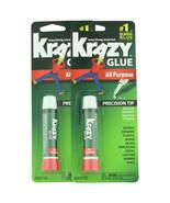 Krazy Glue Super Glue All Purpose Precision Tip 2 ct 0.07 oz  - $5.49