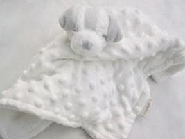 Blankets & Beyond White Dog Lovey Soother Security Blanket Binkie NuNu P... - $25.00