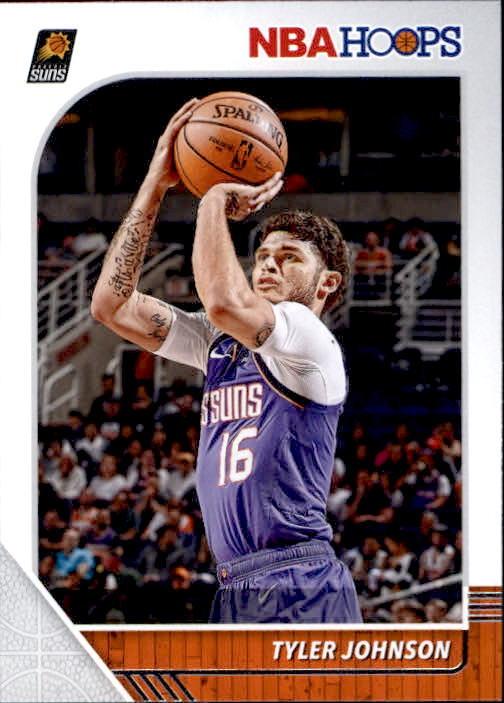 Tyler Johnson 2019-20 Panini NBA Hoops Card #155