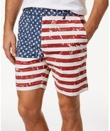 Con.Struct Men's Printed American Flag Shorts, MSRP 58 $ - $20.00
