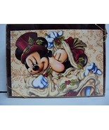 Disney Parks Mickey Minnie Mouse Victorian Christmas Holiday Card Box of 14 - $47.47