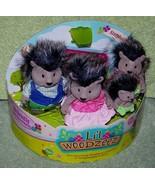 Li'l Woodzeez McBristly Porcupine Family New - $18.88