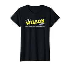 Special shirts - Funny Wilson Matching Family Name Shirt Gifts Wowen - $19.95+