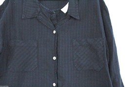 Fresh Produce Tank Maxi Dress & Jacket Blouse Top Black Windowpane Print  M image 2