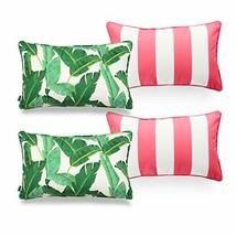 Hofdeco Tropical Indoor Outdoor Indoor Outdoor Pillow Cover ONLY, Water ... - $56.66
