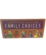 2002 Family Choices Proverbs Edition Faith Kidz Board Game Family Night ... - $7.38