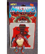 Vintage 1985 Mattel Masters Of The Universe Rattlor Action Figure With C... - $21.99