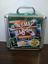 CARD/CD Game - Are You Smarter Than A 5TH Grader Game - 2007 - Sealed - Nib - $15.83