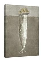 Easy Art Prints Terry Fan's 'Revenge of The Whale' Premium Canvas Art - ... - $126.23