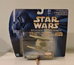Star Wars Micro Machines Trade Federation Droid Fighter Episode 1 - $9.95