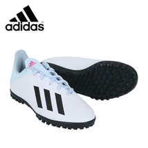 Adidas Jr. X 19.4 TF Football Shoes Youth Soccer Cleats White FV4661 - $54.99