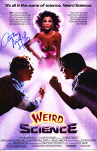 ANTHONY MICHAEL HALL Signed 'Weird Science' 11x17 Movie Poster - SCHWARTZ - $187.11