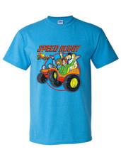 Speed Buggy t-shirt retro Saturday morning Cartoons 1970s 1980s heather blue tee image 2
