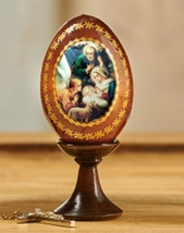 Nativity Icon Egg  - Small Size - $31.95