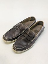 Cole Haan Grand OS Driver Moc Slip On Rustic Brown C21983 Penny Loafer S... - $38.64