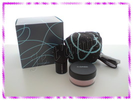 NIB RARE MAC Novel Twist Collection: Brush and holder Set 181SE+Pigment - $34.99