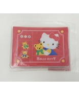 VINTAGE 1996 SANRIO HELLO KITTY CLEAR CREDIT CARD / PICTURE HOLDER CASE ... - $23.38