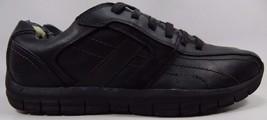 Skechers Stitched Driving Oxford Men's Casual Shoes Sz US 13 M (D) EU 47.5 Black