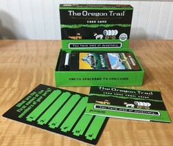 The Oregon Trail Card Game COMPLETE   Based On The Classic Computer Game! - $12.87
