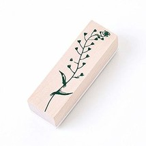 VintagePlants Wooden Stamps Rubber Standard for Spiral Paper Bullet Jour... - $11.21