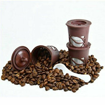 3-Pack: Reusable Coffee Filter Pods for Single-Serve Keurig Brewers - $8.90