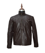 Stephen Amell Arrow Brown Real Cowhide Leather Jacket - $179.99