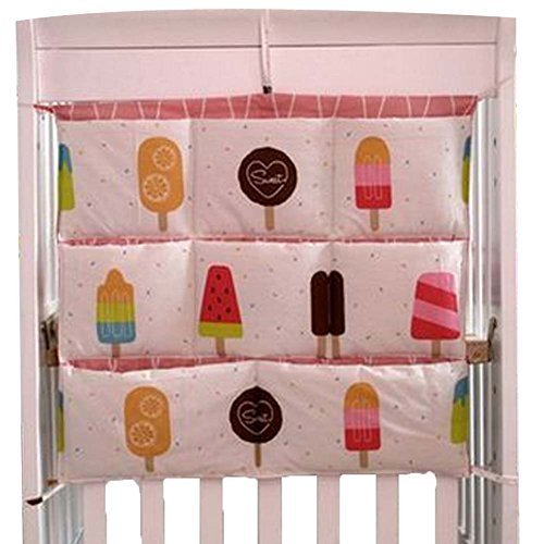 Ice-Cream Multilayer Baby Bedside Pouch Diaper Bag Storage Bag