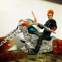 Ghost Rider extremely alloy mobile doll 23.5cm hands model ornaments mod... - $345.51