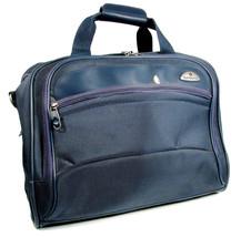 Samsonite Duffle Bag Overnight Travel Carry On Organizer Blue Nylon  - $35.63
