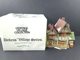 Dept 56 Heritage Village Collection Dickens Village Hembleton Pewterer #... - $23.28