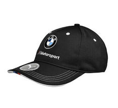 PUMA BMW M BB Motorsport Logo Strap Back Cap Black Baseball Hat 022536 01 image 3