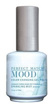 LeChat Perfect Match Mood Gel Nail Polish, Sparkling Mist by LE CHAT - $28.43