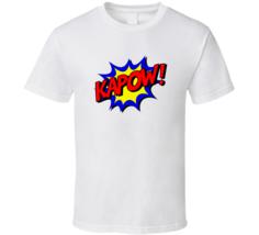 Punch Impact Sign Kapow Comic Cool  T Shirt - $17.99+