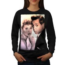 Celebrity Lucille Ball Jumper Famous Person Women Sweatshirt - $20.99