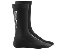 Men Porsche Design by Adidas Reflective Crew Socks Black White bounce sp... - $33.95