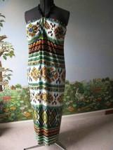 Saint Tropez West Women's Beads Halter Long Jersey Dress Size 18W NWT - $38.61