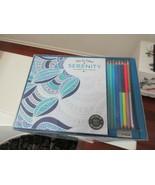 Viva Le Color , Serenity , Color Book & Pencils - $11.88