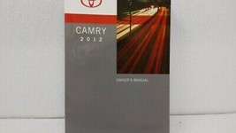 2012 Toyota Camry Owners Manual 73462 - $27.63