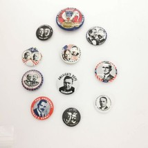 President Button Pins Lot 11 Wilkie Truman Coolidge Dewey Wilson 1968 Kl... - $59.99