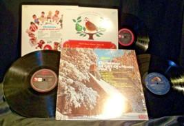 3 Christmas Records-The 12 Days of Christmas, A Christmas a Gift of Music Vol 3 image 2