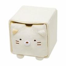New Sumikko Gurashi Plush Doll Face Chest Cat Beige Limited Japan - $46.74