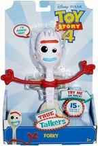 "Disney Pixar Toy Story 4 True Talkers Talking FORKY Figure 8"" - 15+ Phra... - $24.72"