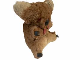 "Vtg Genuine Fur Stuffed Made Australia Australian Koala Bear 11"" Plush Joey Cub image 7"