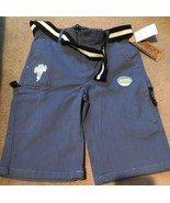 Smith's American Belted Cargo Shorts Boys Size 14 Slim Fit New - $14.84