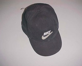10321b16cf1 Nike 1972 Swoosh Logo Adult Unisex Stretch Fit Black Cap L -  22.76
