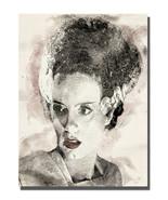 Horror Movie Bride of Frankenstein Monster Design 16x20 Aluminum Wall Art - $59.35